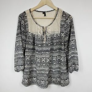 Maurices Womens Blouse Top Size Medium